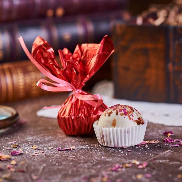 ГОЛУБОЙ ДУНАЙ. Пастильная конфекта в белом шоколаде. Фото