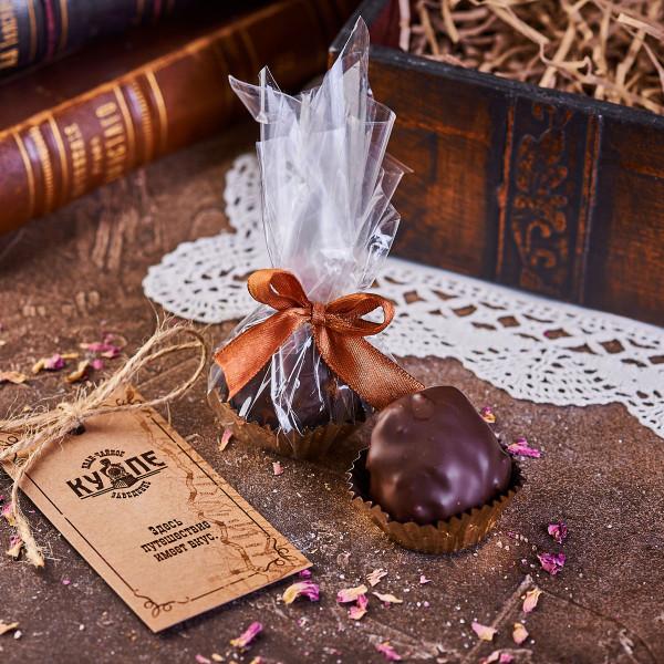 """""""Трюфель"""" из смоквы в темном шоколаде. Фото"""