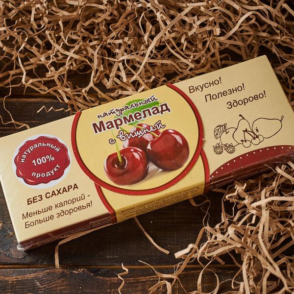 Мармелад без сахара с ВИШНЕЙ. Фото