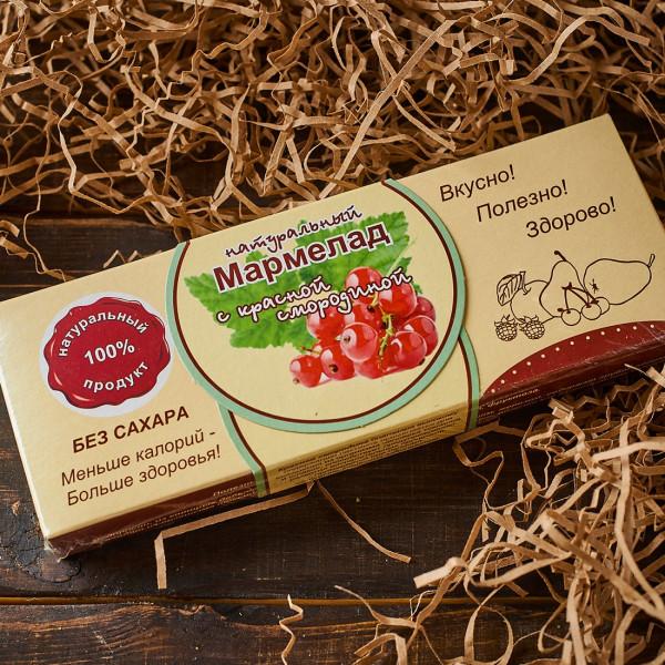 Мармелад без сахара с Красной Смородиной. Фото