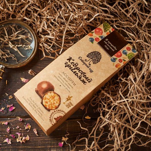 Конфеты «Кедровый грильяж» ассорти. Фото